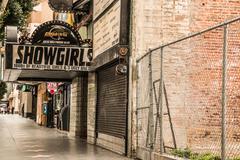Showgirls Hollywood Strip Club Stock Photos