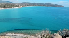 Sea bay in Sardinia Stock Footage