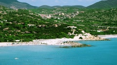 Seaside in Sardinia Stock Footage