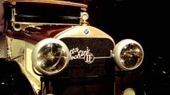 Vintage Car Isotta Fraschini Stock Footage
