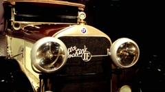 Vintage Car Isotta Fraschini Stock Footage