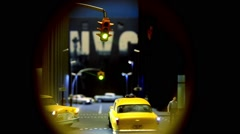 Diorama new york Stock Footage