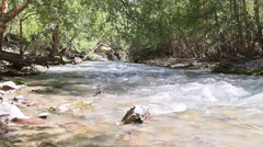 Mountain river. Pamir, Tajikistan Stock Footage