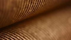an old rusty iron shafts of press closeup - stock footage