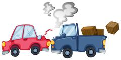 Cars - stock illustration