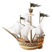 Stock Illustration of Old vessel