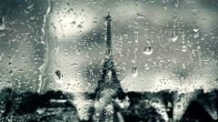 La tour Eiffel 1 Stock Footage