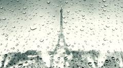 La tour Eiffel 2 Stock Footage