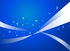abstract blue background - vector - stock illustration