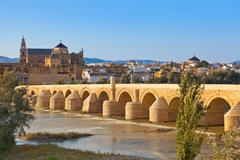 Bridge at Cordoba Spain - stock photo
