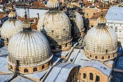 Cupola of st. marco church in venice Stock Photos