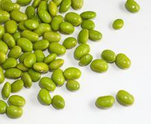 edamame bean - stock photo