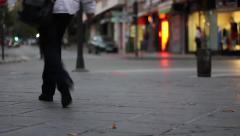 City street Stock Footage