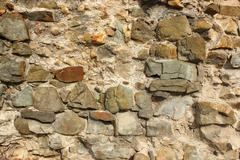 Ancient stone wall texture for your architectural design Stock Photos