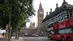 Big Ben in London Arkistovideo