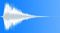 Male xylo regret fanfare - sound effect