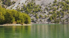 Stock Video Footage of Manavgat Reservoir dolly