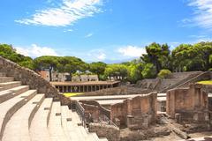 Ruins of Pompeii Stock Photos