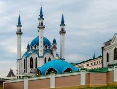 Qolsharif mosque in kazan kremlin, russia Stock Photos