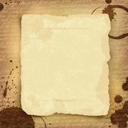 abstract ancient manuscript background with space for text. vector, eps10 - stock illustration
