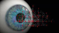 Network surveillance. - stock footage
