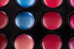 Lip gloss palette - stock photo