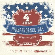 poster for independence day celebration. vector, eps10 - stock illustration