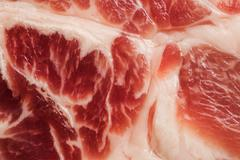 Background texture of marbled meat Stock Photos