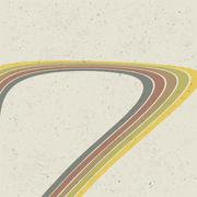 Retro lines abstract background. vector, eps10 Stock Illustration