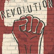 revolution! vector illustration, eps10 - stock illustration