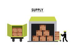 Stock Illustration of supply design , vector illustration