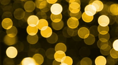 Light Effects/ Bokeh background Stock Footage
