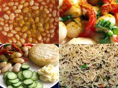 Stock Photo of British food