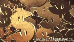 Dollar Signs Transition 3D Stock After Effects
