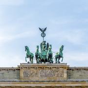 Stock Photo of brandenburg gate (brandenburger tor) in berlin