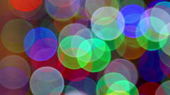 Colorful festive bokeh light effects Bokeh background footage  Stock Footage