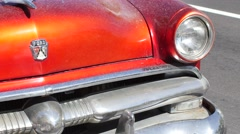 classic ford car 4k video - stock footage