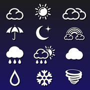 Weather Forecast - stock illustration