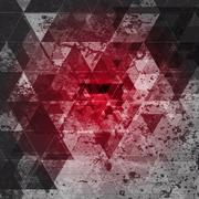 Red grunge abstract background Stock Illustration