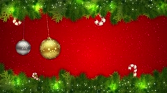 Merry Christmas HD Stock Footage