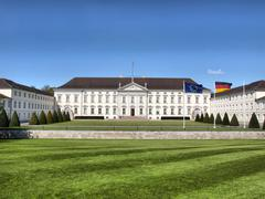 Schloss Bellevue, Berlin - stock photo