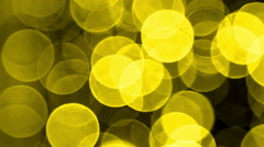 Bokeh Light Effects Stock Footage