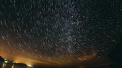 Star Trail - stock footage