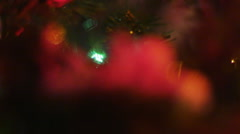 Stock Video Footage of 2677 The Reason For the Season Christmas Ornament of Baby Jesus, HD