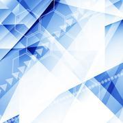 Stock Illustration of Futuristic Background
