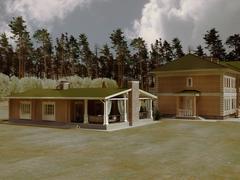house dwelling - stock illustration