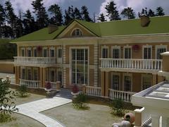 House dwelling Stock Illustration
