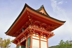 Kiyomizu dera Temple in Kyoto, Japan - stock photo