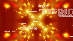 Dream Drive Success Abstract Loop Stock Footage