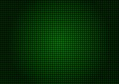 illustration - background of green laser grid - stock illustration